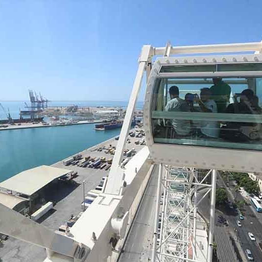 Malaga Ferris Wheel Noria Mirador Princess 01